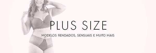 Banners categoria Plus Size