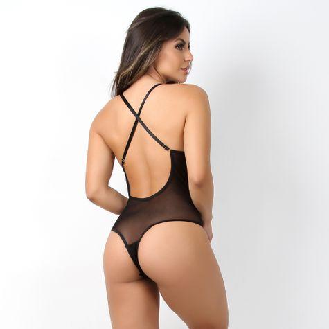Body-Sexy-Sem-Bojo-em-Tule-e-Renda-com-Decote-nas-costas-Preto-CG04