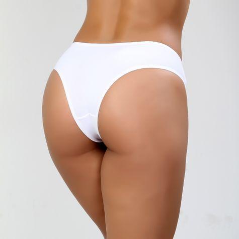 Calcinha-Conforto-em-Poliamida-com-Elastico-Exposto-Branco-40092