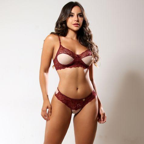 Conjunto-Sexy-Sem-Bojo-Com--Aro-e-Tule-Rubro-ZZ002