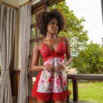 Camisola-Sem-Bojo-Estampada-com-Renda-Vermelho-Floral-7093