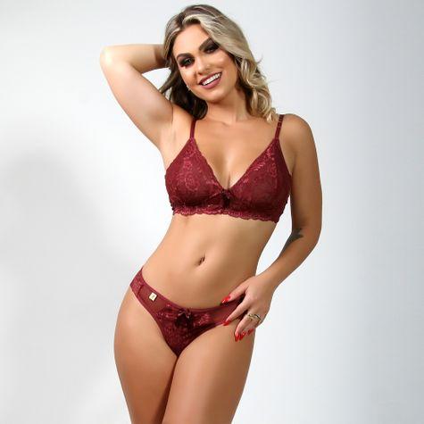 Conjunto-Sexy-Sem-Bojo-Em-Tule-e-Renda-Rubro-4072