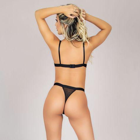 Conjunto-Sexy-Sem-Bojo-em-Tule-e-Bordado-Preto