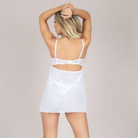 Camisola-Com-Bojo-em-Tule-e-Transparencia-Branca